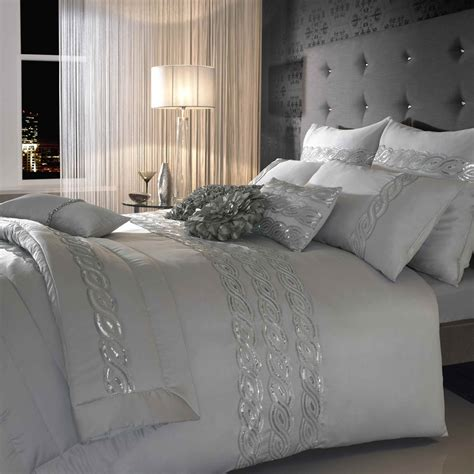 bedding online kylie at home sequin wave duvet cover from palmers