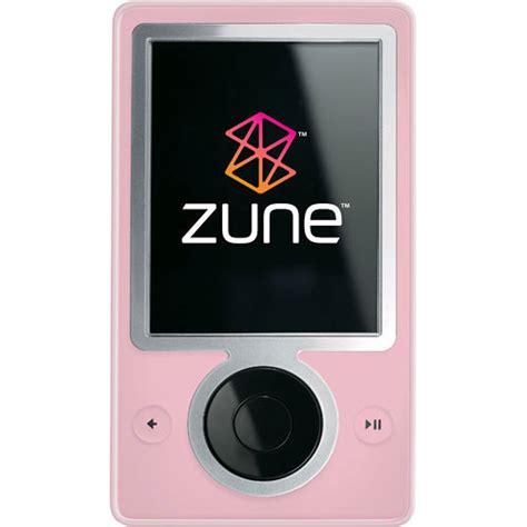 A More Pleasing Pink Zune microsoft zune 8gb pink 2nd generation demo hva00005 b h