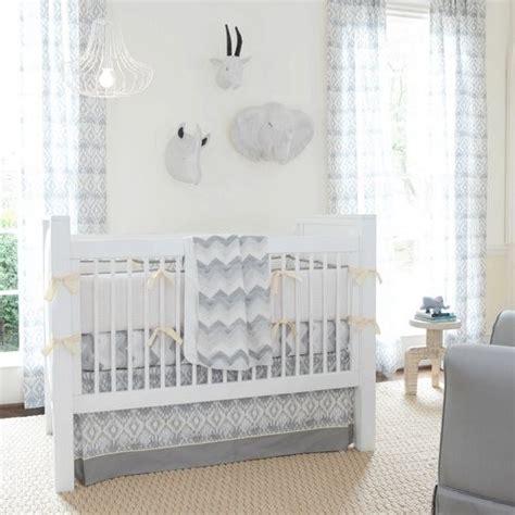 Contemporary Crib Bedding Stella Ikat Crib Bedding Collection By Carousel Designs Contemporary Atlanta By