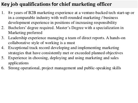 chief strategy officer job description chief marketing
