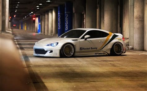 subaru brz rocket bunny white wallpapers subaru brz 2017 cars low rider
