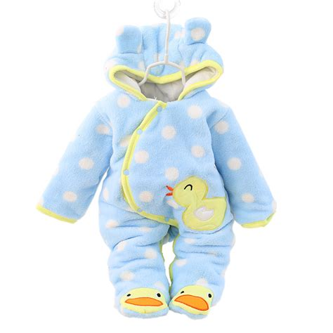 musim dingin bayi lebih tahan dr hangat lucu pakaian anak perempuan pakaian bulu tebal overall