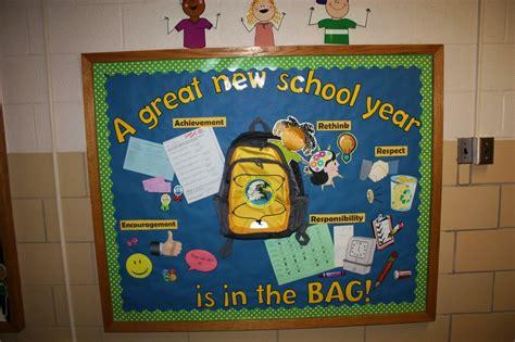 new school year bulletin board teaching new school