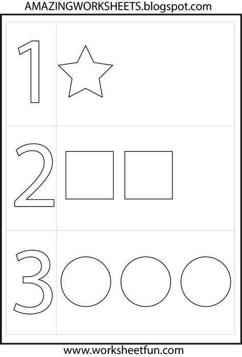 numbers preschool toddler fun preschool worksheets
