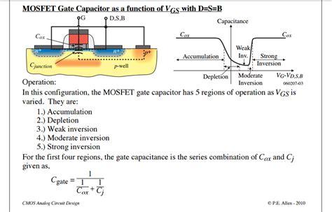 transistor gate capacitance circuit analysis mosfet gate capacitance in strong inversion electrical engineering stack