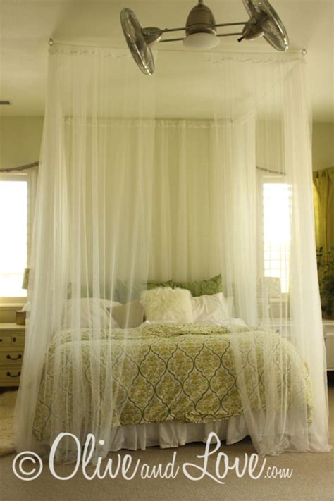 diy bed canopy bed canopy diy diy pinterest