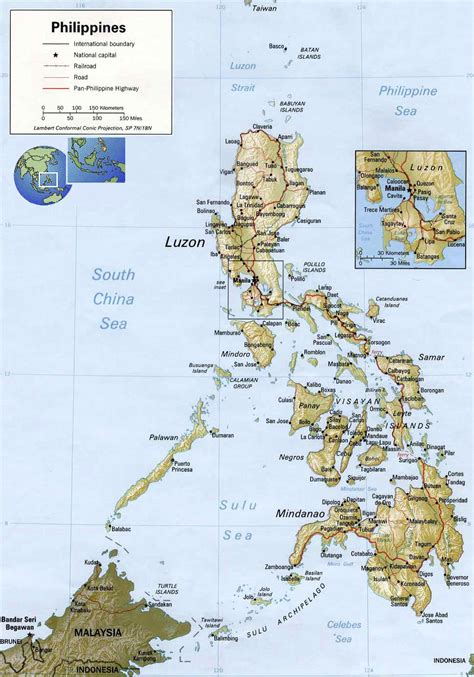 printable map philippines map of philippines printable philippines map philippines