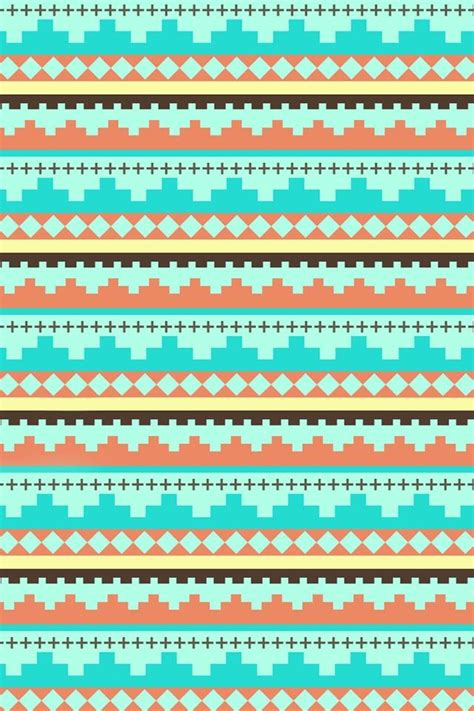 wallpaper cute tribal cute tribal wallpaper pattern pinterest turquoise