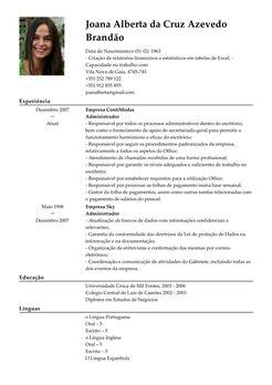 Modelo De Curriculum Vitae De Tecnico En Farmacia Peru Modelo De Curriculum Diretor Geral Exemplo De Cv Livecareer