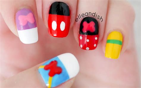 royal nails 54 watt uv l mickey mouse nail design nail ftempo