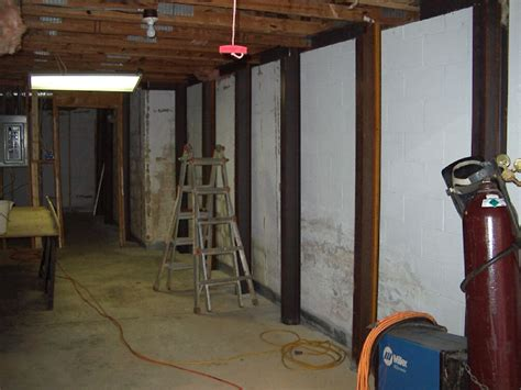 basement wall repairs anglin s foundation repairs