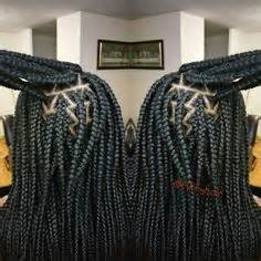 triangle parts hair triangle part box braids poetic justice braids plaits