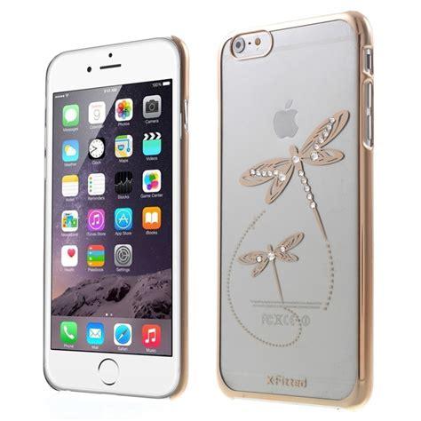 x fitted kryt na apple iphone 6 plus 6s plus zlat 253 s v 225 žkami a kam 237 nky swarovski appleking cz