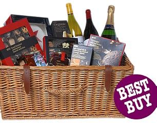 marks and spencer xmas food gifts from fortnum to asda berry gives verdict on the best hers