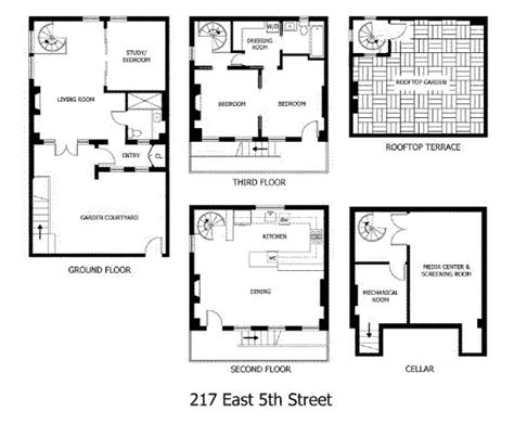 carriage house floor plans east village carriage house with modernist interiors idesignarch interior design