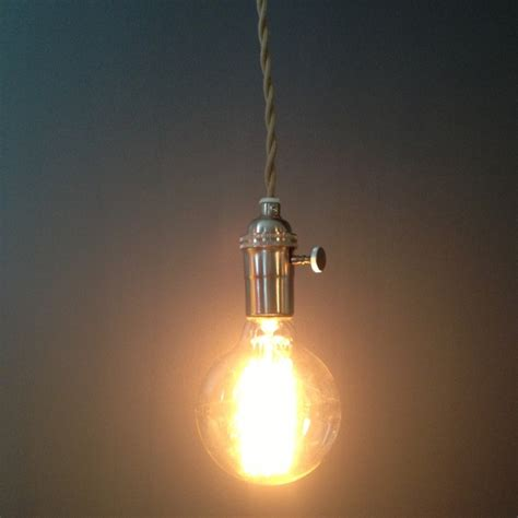 bare light chandelier industrial swag bare pendant light edison style