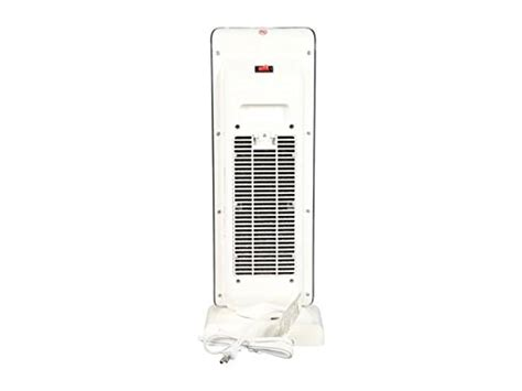 tower fan with thermostat rosewill electric oscillating tower heater fan with