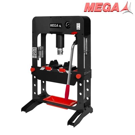 10 ton hydraulic bench press mega prs10g hydraulic bench press 10 ton force tools