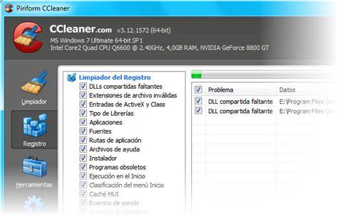 ccleaner que debo borrar ccleaner para windows portal ayuda asistencia digital