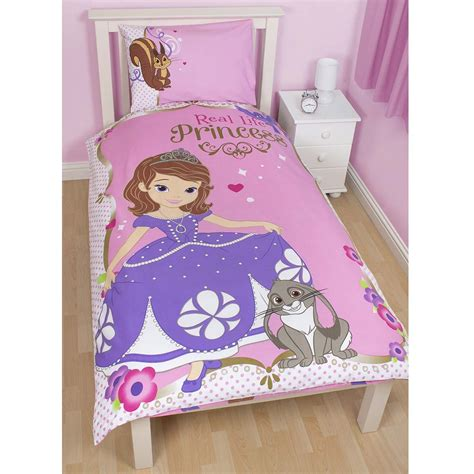 bedroom sofia disney sofia the first bedding single double junior