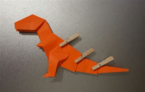Origami T Rex - origami t rex and diagrams jo nakashima