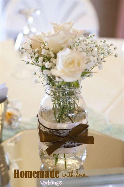 mason jar centerpiece wedding centerpiece