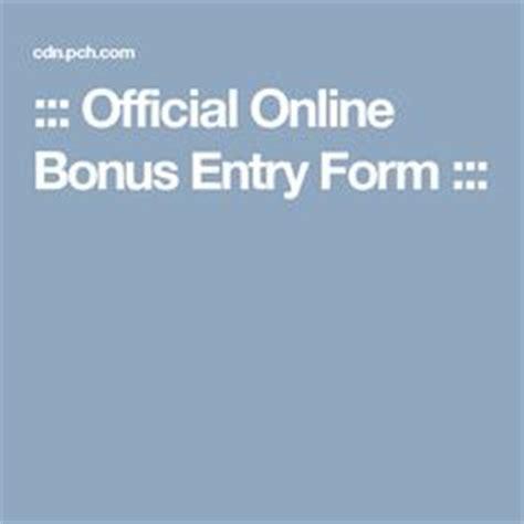 Pch Official Entry Form - pch danielle lam pchdanielle 2h bonus clue for tomorrow s 10 000 award the