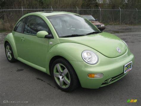 volkswagen beetle green 2003 volkswagen beetle gls 1 8t cyber green color
