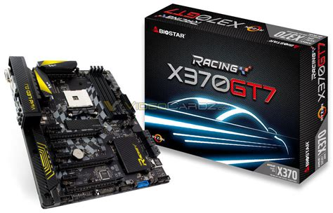 Biostar Racing X370 Gt5 Am4 cartes m 232 res socket am4 vulgum techus