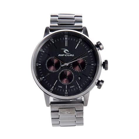 Jam Tangan Pria Rip Curl Date Analog Leather Mds 1302 jual rip curl chrono gunmetal sss jam tangan pria a2948 36 harga kualitas