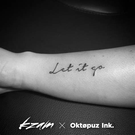 sentence tattoo designs best 25 let it go ideas on letting go