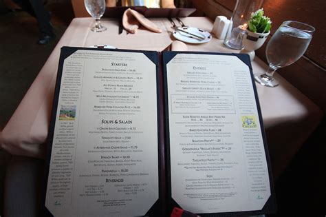 Ahwahnee Hotel Dining Room Menu by Model Menu