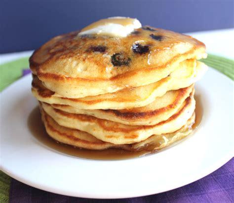 blueberry pancake lemon blueberry pancakes recipe dishmaps