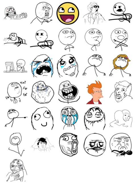 Meme Stickers For Facebook - memes pack 1 stickers telegram