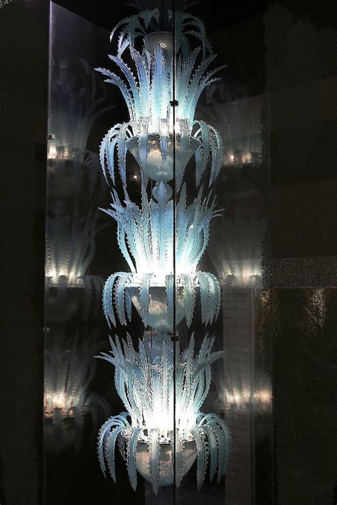 Blown Glass Chandeliers Waterfall Blown Glass Chandelier By Murano At 1stdibs