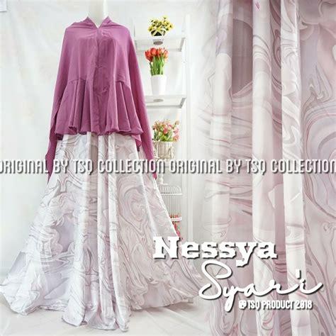 Baju Muslim Syari baju muslim maxmara nesya syari gamis cantik