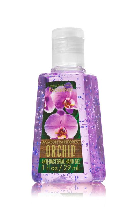 bath body works amazon rainforest orchid anti bacterial hand gel reviews  hand sanitizer