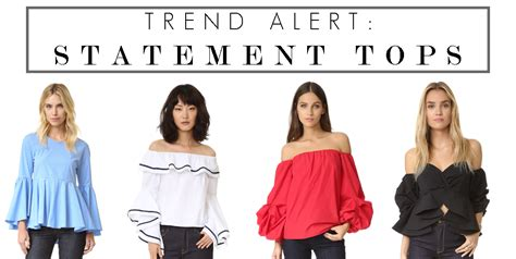 Trend State Ment by Trend Alert Statement Tops The Perennial Style