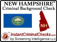 Nh Background Check New Hshire Criminal Background Checks Employment