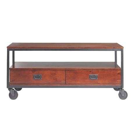 home decorators coffee table home decorators collection industrial mansard black coffee
