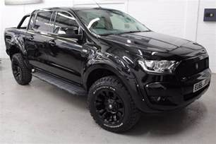 Blacked Out Mustang 2017 17 Deranged Ford Ranger 3 2 Tdci Auto Blackout