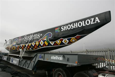 Home Design Classes team shosholoza unveils the hull of its new america s cup