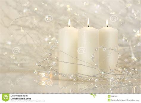 imagenes velas blancas tres velas blancas foto de archivo libre de regal 237 as