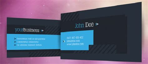 free business card design templates photoshop 12 free photoshop business card templates to create a