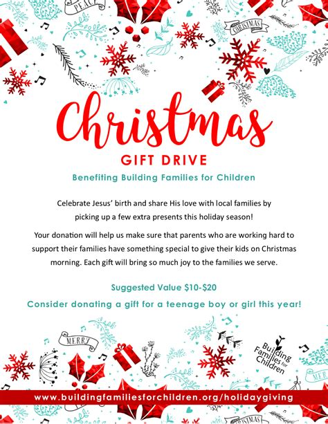sponsor a child for christmas gift giving building families for children