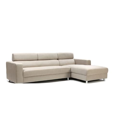 3 seater chaise lounge 3 seater sofa with left chaise lounge in beige buy online