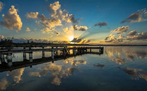 bellacas de p r tumblr puerto rico reflection sunset lake sea wallpaper