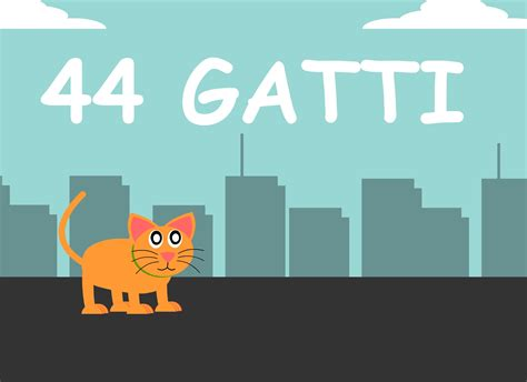 quarantaquattro gatti testo quarantaquattro gatti testo canzone per bambini