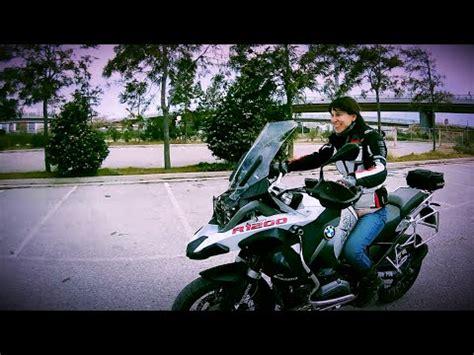 big bike   small girl bmw  rgs adventure