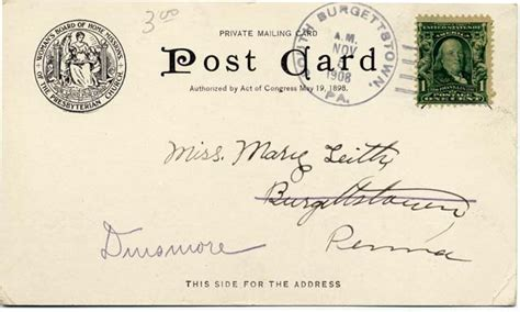 Does The Post Office Sell Postcards by Tips For Determining When A U S Postcard Was Published